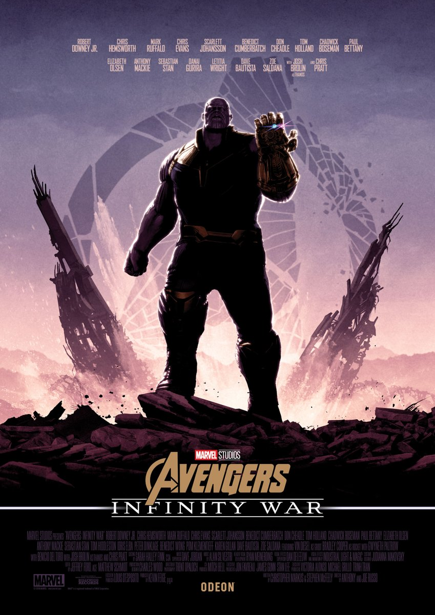 Нановых постерах «Войны Бесконечности» Мстители противостоят Таносу наруинах | Канобу - Изображение 3