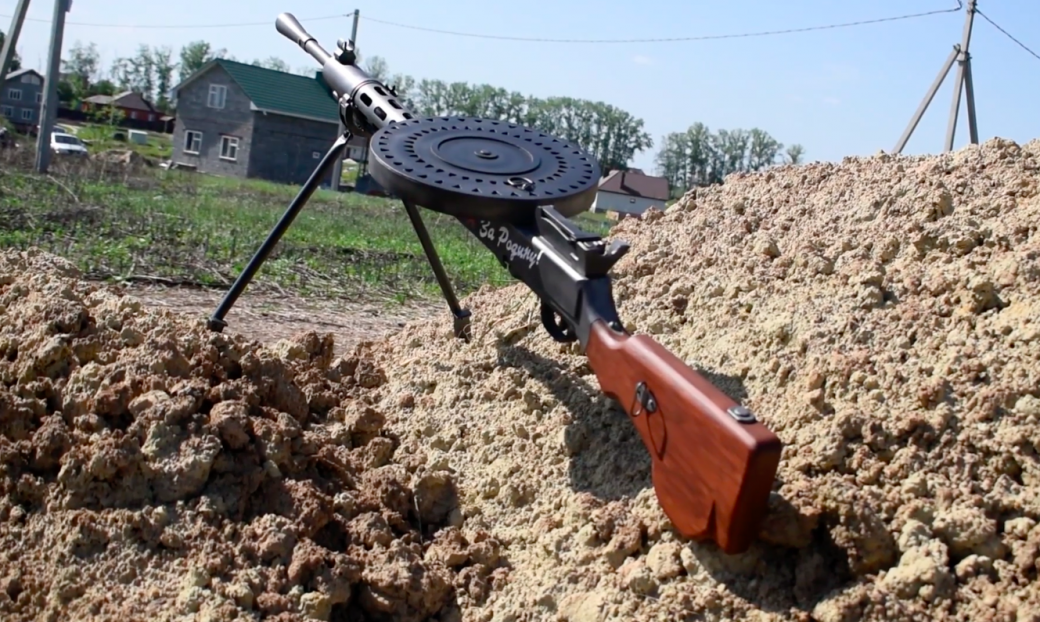 Конкурс к9мая: получи реалистичную модель пулемета Дегтярева!. - Изображение 1